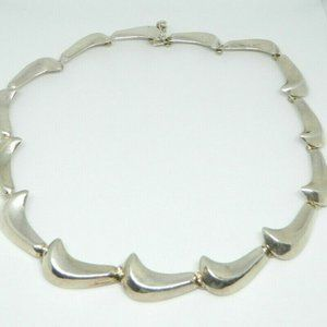Taxco TP-22 Mexico Sterling Silver Solid Wave